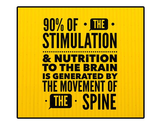 90 percent Stimulation Spine
